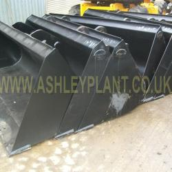 jcb and manitou telehandler buckets